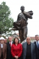 THE SPEECH OF PRESIDENT JAHJAGA HELD DURING THE CEREMONY OF THE UNVEILING OF THE STATUE OF ISA BOLETINI IN ISNIQ, DEÇAN